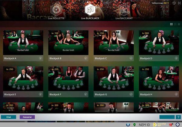 Live Casino hos Karamba