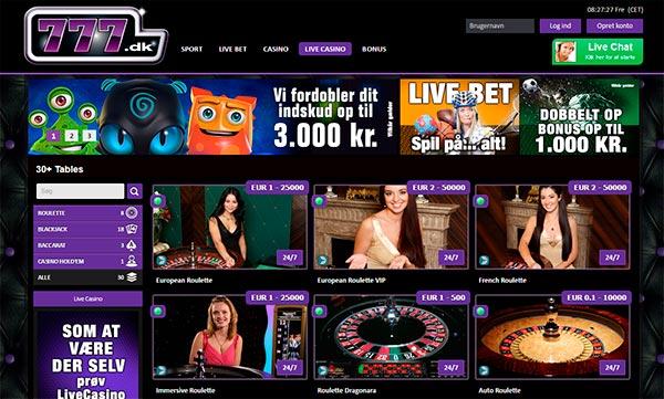 Live kasino deakers