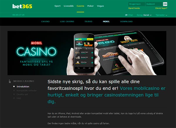 Bet365 Mobil app