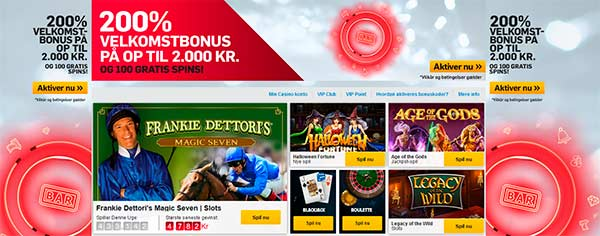 Betfair casino - 200% i bonus