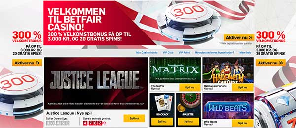 Betfair casino - 300% i bonus