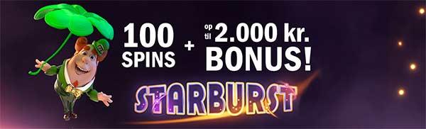 CasinoSjov: markedets bedste bonus op til 10000 kr