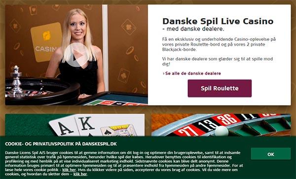 Spil blackjack hos Danskespil casino