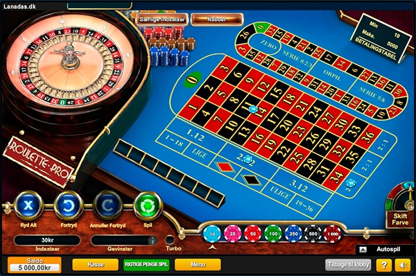 Spil roulette hos MrSpil