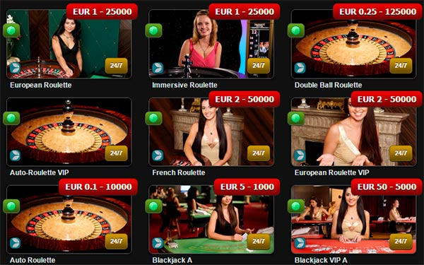 Next Casino Live dealers