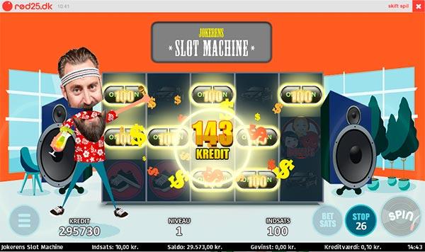 Jokerens spilleautomat