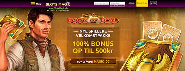 Bonus hos SlotsMagic