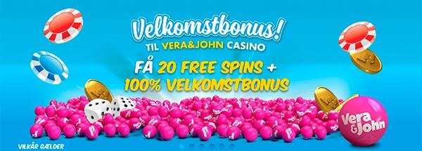 Bonus 20 gratis spins