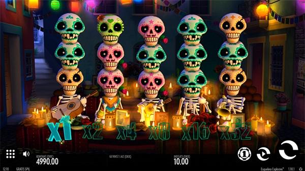 Esqueleto spilleautomat