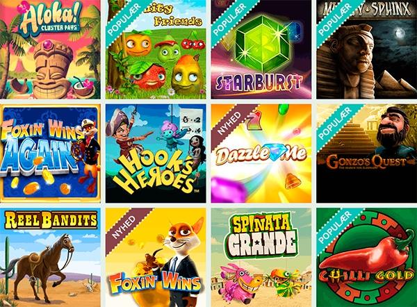Spændende online spilleautomater hos Bellis