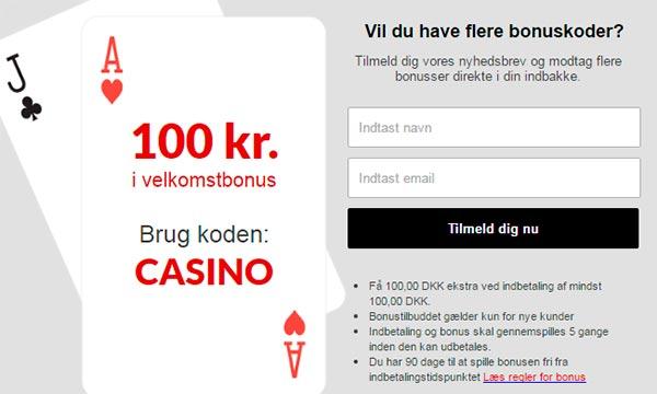 100 KR bonus