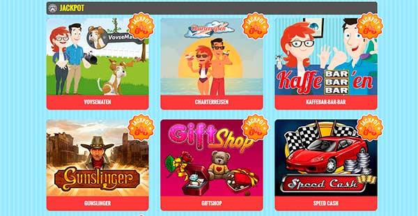 Vegas.dk Casinospil