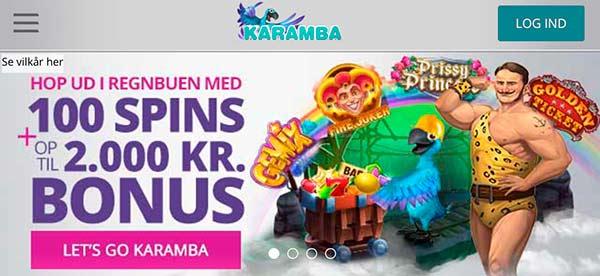 Karamba bonus til mobil