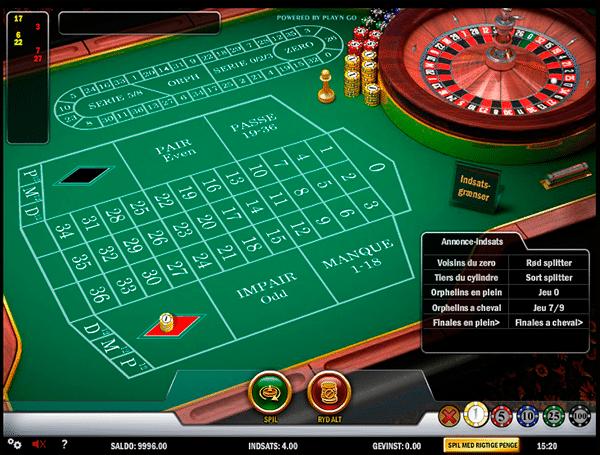 Spil roulette gratis poker couleur flush