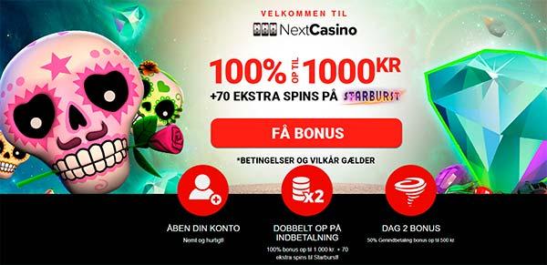 Nextcasino bonus