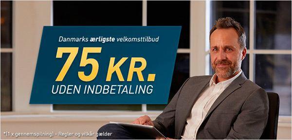 Spillehallen's gratis penge - 75 kr