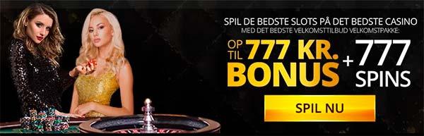 Dansk777 casino nyt bonus 777 kr.