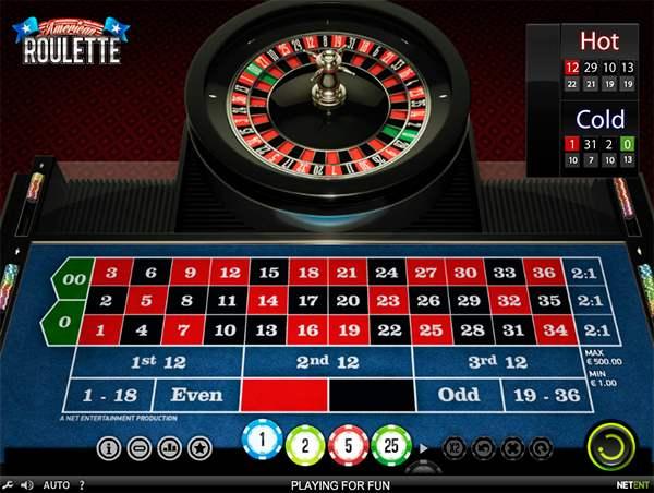American roulette for sjov