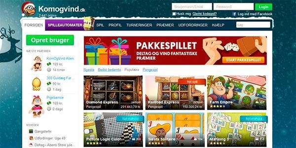 Kom og vind: mange sjove og underholdende gratis spil
