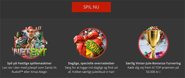 MagicRed Casino Jule-Bonanza-Turnering i december