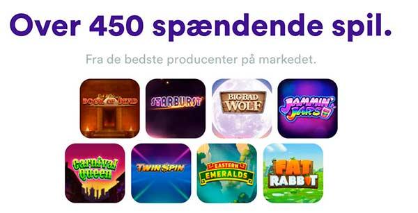 450 casinospil+