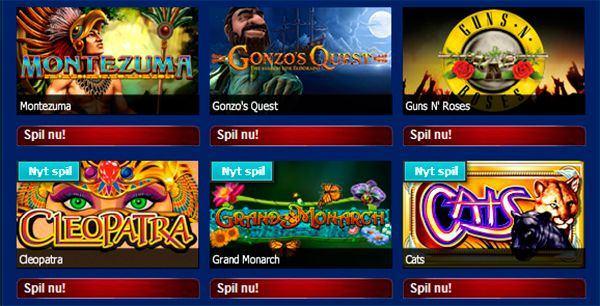 Party Casino er rigtig mange casinospil