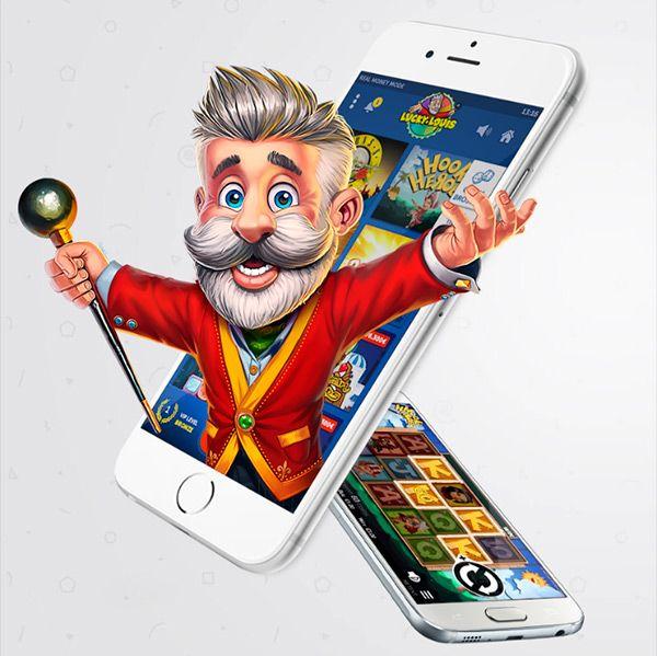 Luckylouis mobil spil