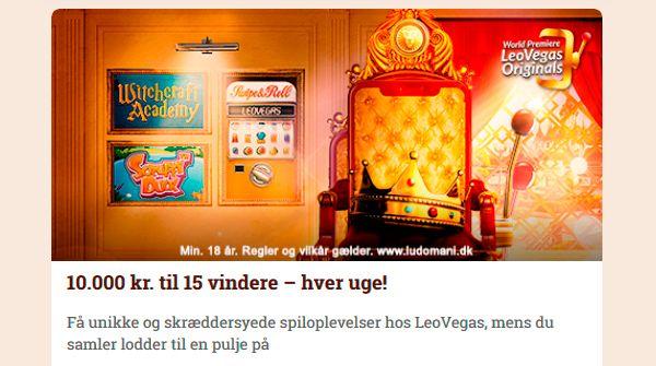 Leovegas VIP kampagner