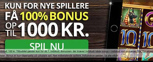 Op til 1000 KR bonus