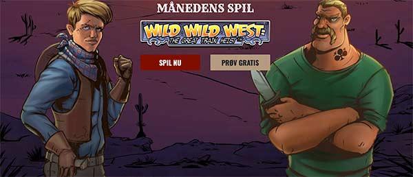 Wild Wild West flot spilleautomat