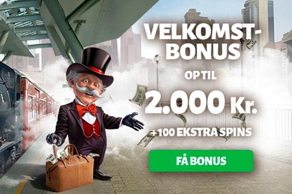 Indbetalingsbonus hos Billion Casino